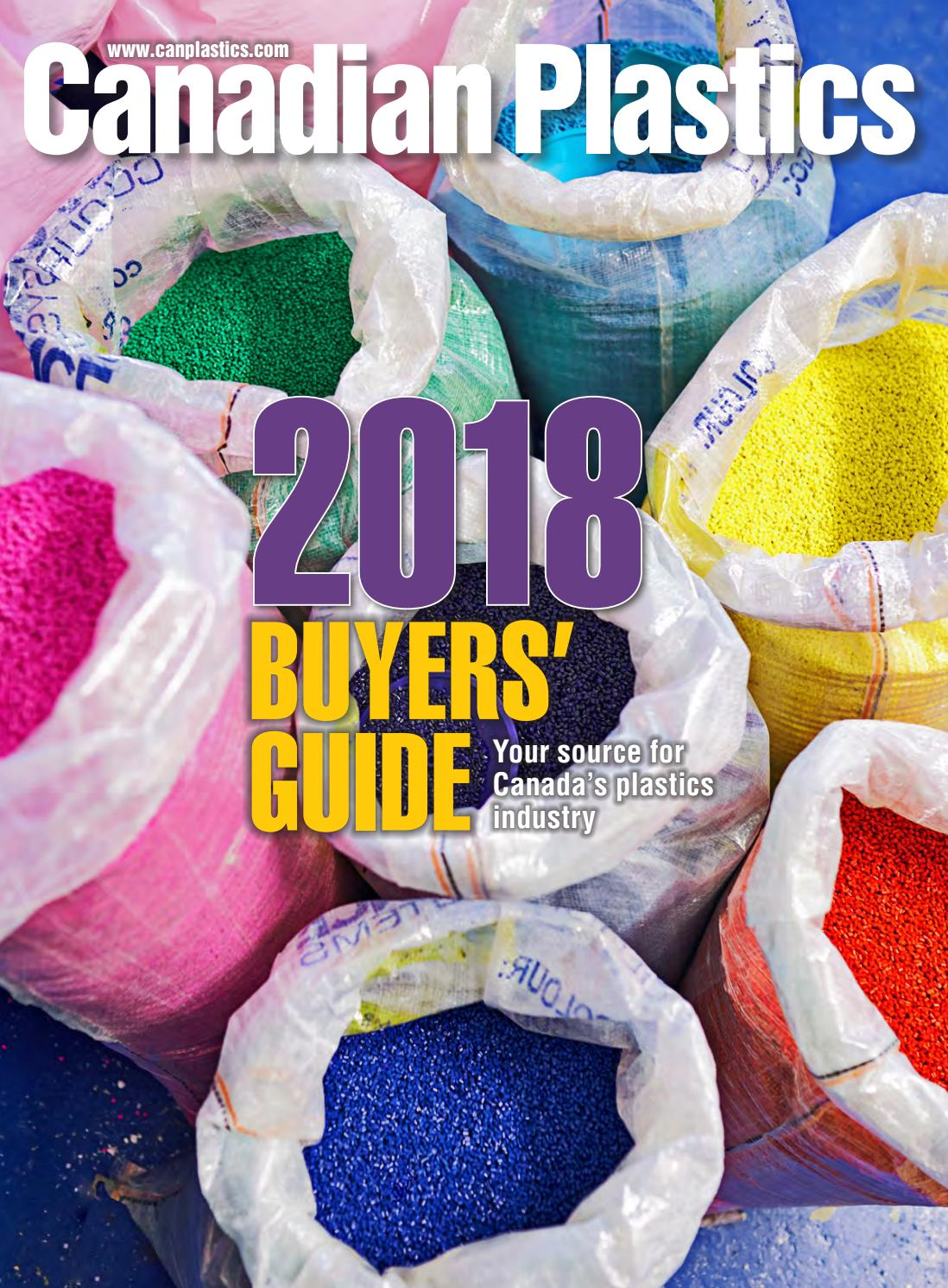 Canadian Plastics 2018 Buyers Guide by Annex Business Media - issuu