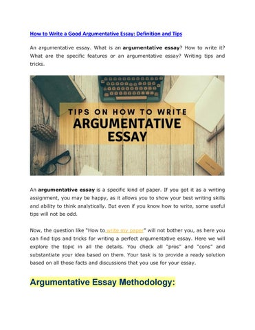 Apa Essay Paper How To Write A Good Argumentative Essay Definition And Tips An Argumentative  Essay What Is An Argumentative Essay How To Write It Healthy Eating Habits Essay also Environmental Science Essay How To Write A Good Argumentative Essay Definition And Tips By Taaza  Health Education Essay