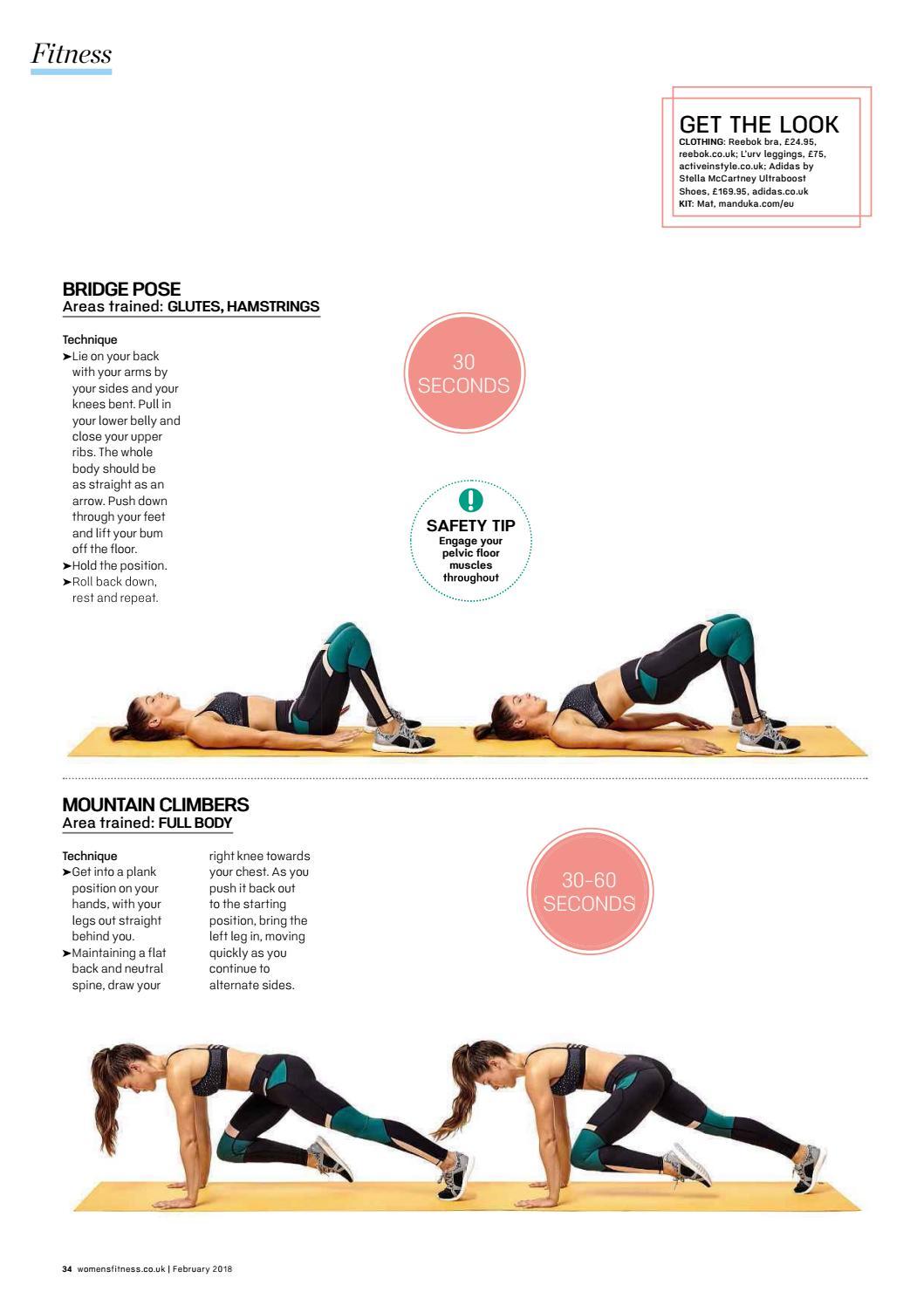 romano Creación Saltar  Women fitness uk february 2018 by nguyenducthanhminh - issuu