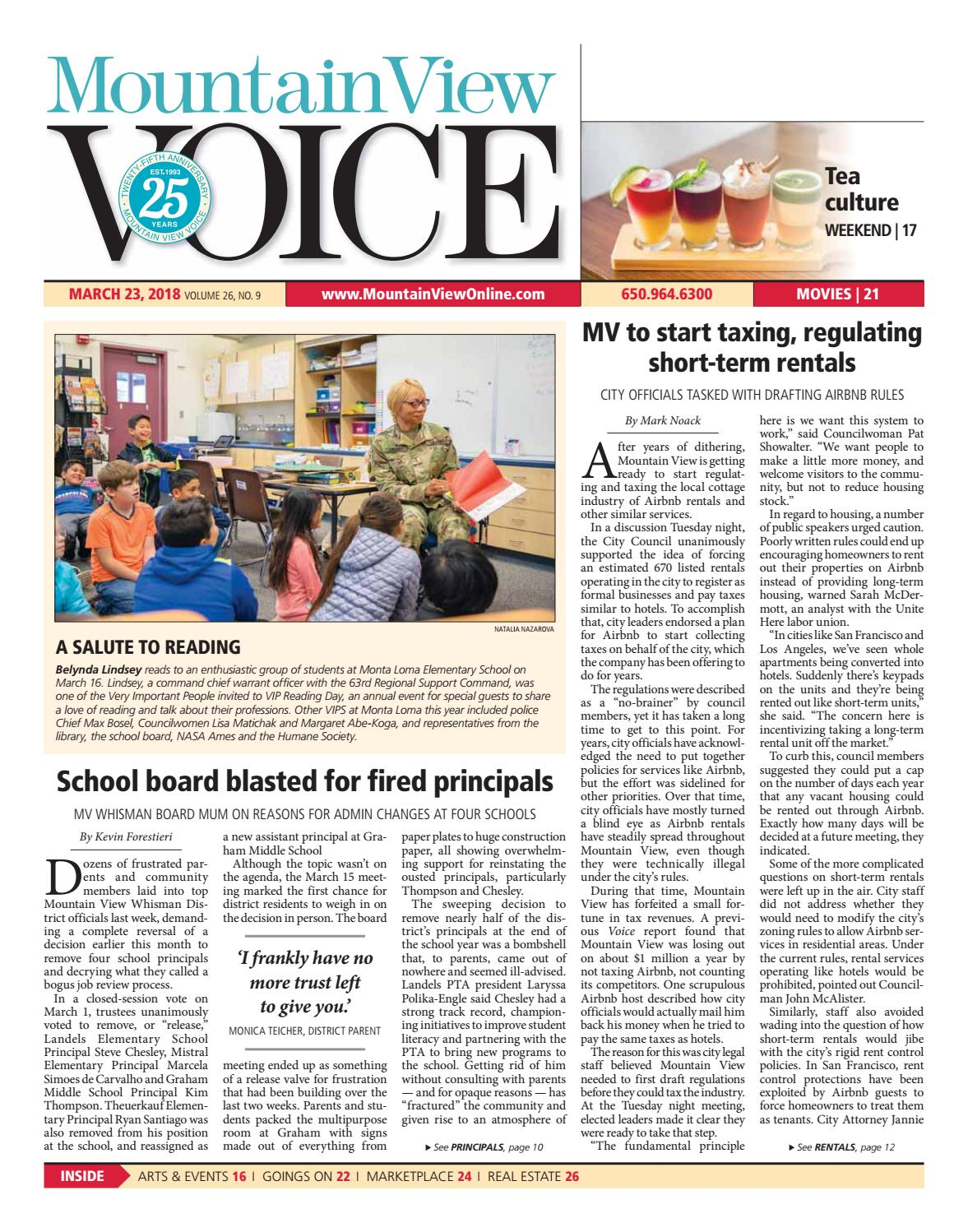 Mountain View Voice March 23, 2018 by Mountain View Voice - issuu