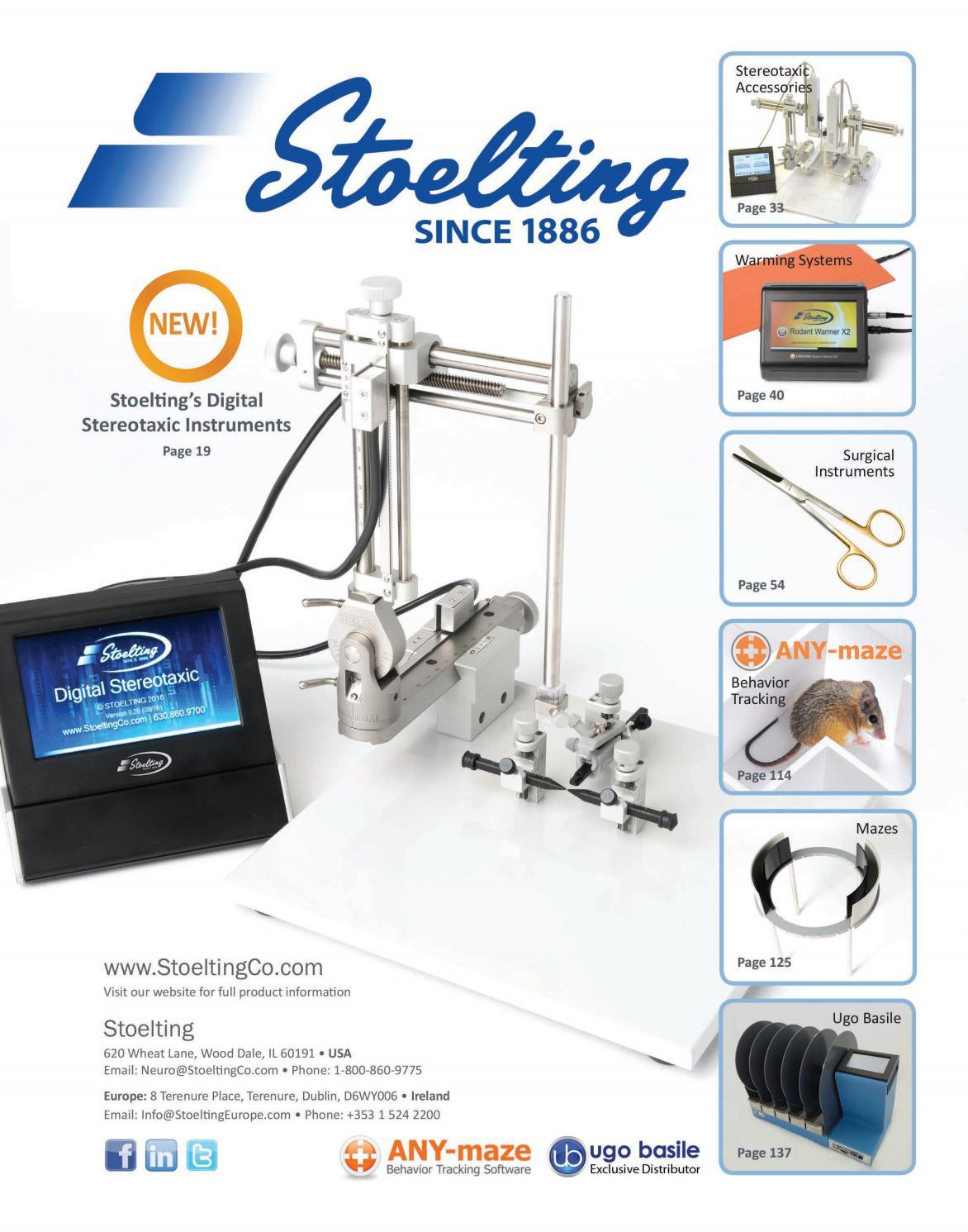 Catálogo Stoelting by Senna Publications - issuu