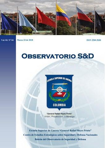 7146d950b5 Boletín del Observatorio de Seguridad y Defensa Vol. 03. N°04 2018 ...