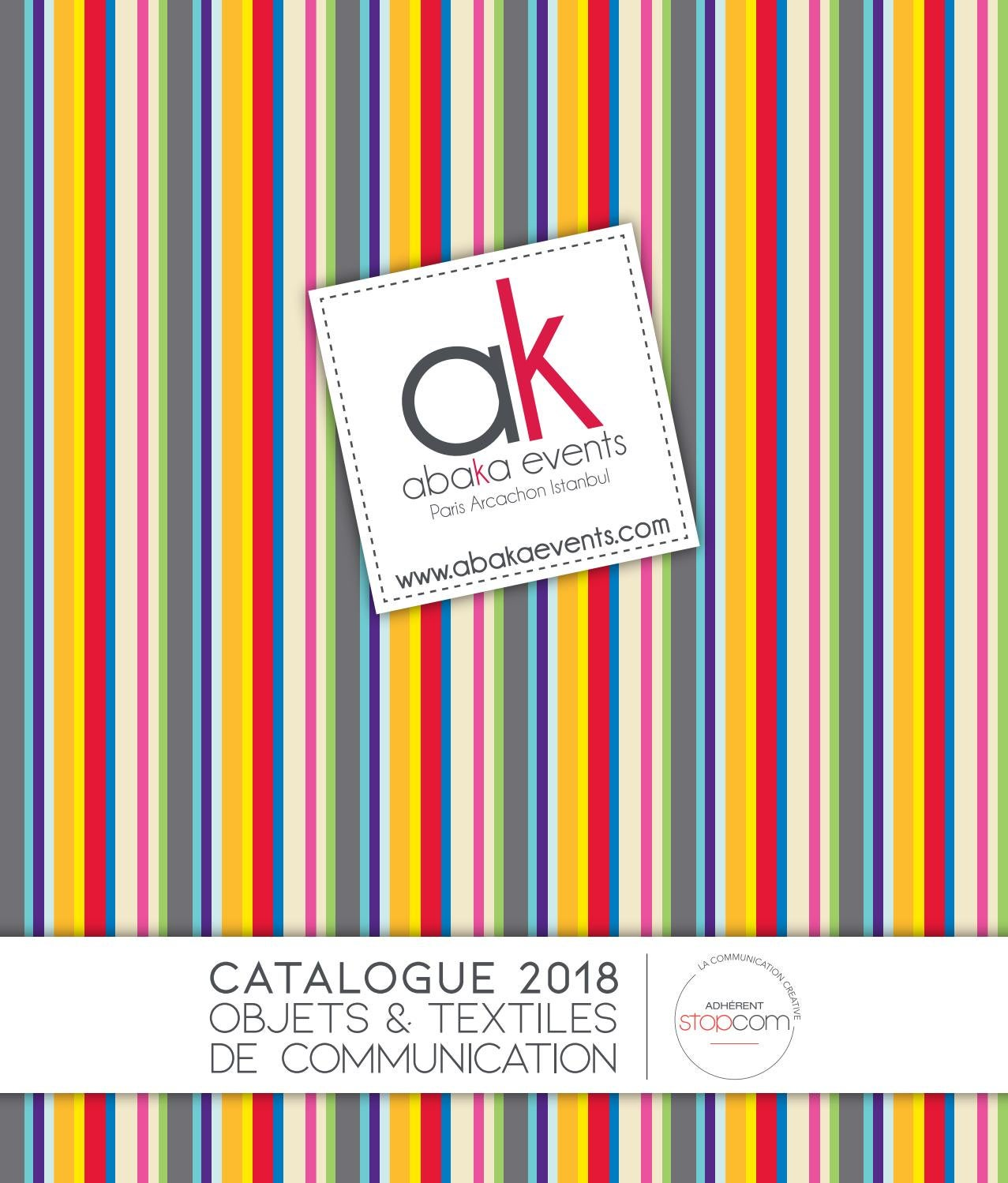 Abaka 2018 by Objectif Goodies - issuu be3a243db1c7