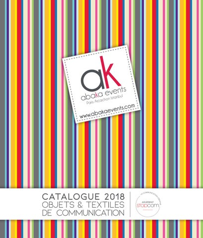 911d27183457 Abaka 2018 by Objectif Goodies - issuu