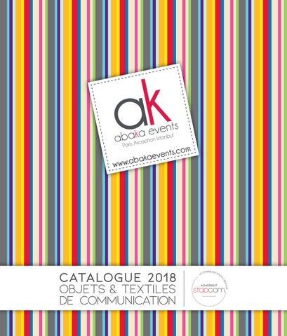 Abaka 2018 by Objectif Goodies - issuu 4a47ad10dba