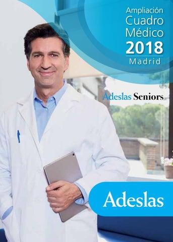 Ampliación Cuadro Médico 2018 Adeslas Seniors By Oac Adeslas
