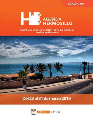 "Cover of ""Agenda hermosillo 23 mar 2018"""