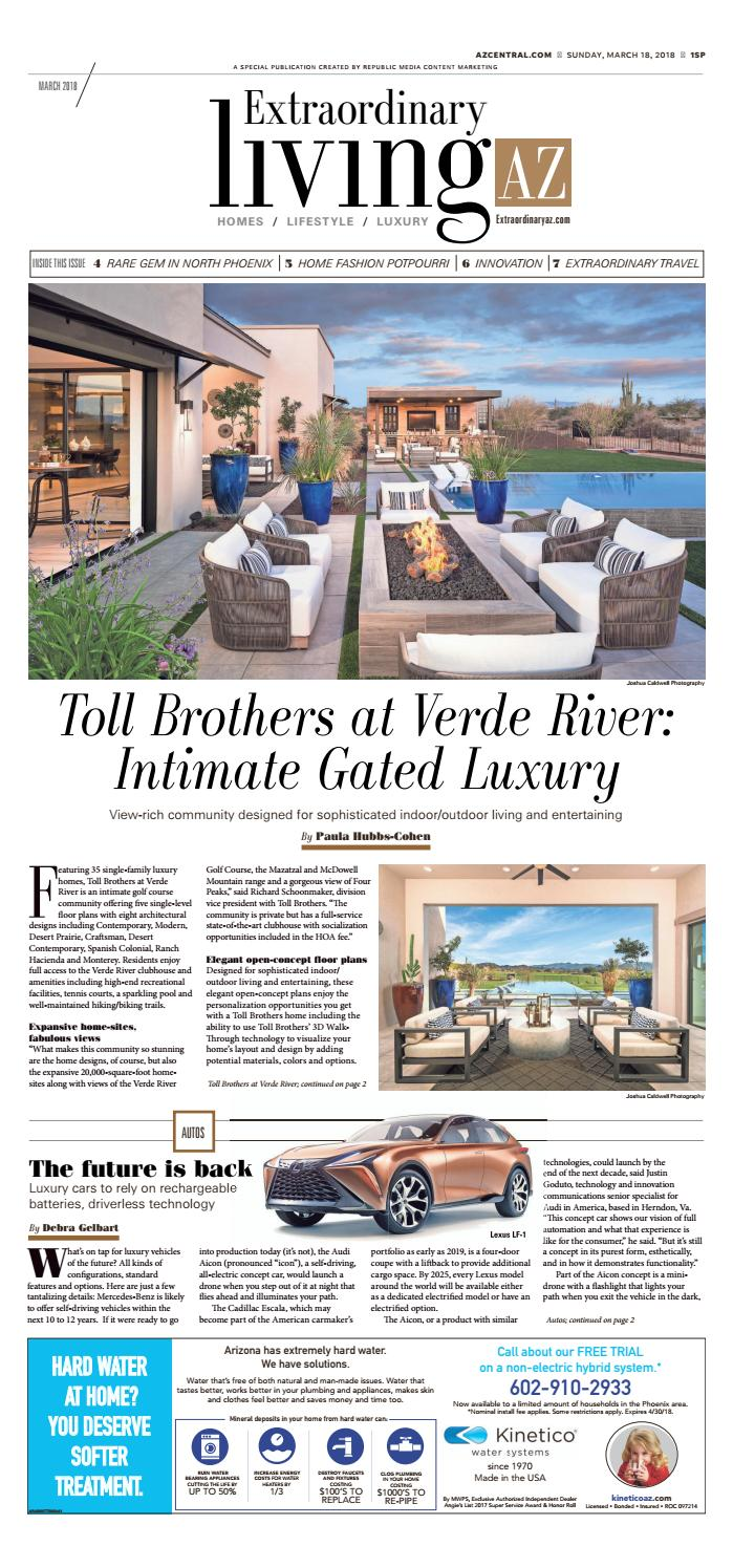 Extraordinary Living - March 2018 by Republic Media Content ... on unique open floor plans, courtyard floor plans, toll brothers home interior, toll brothers luxury homes, toll brothers home elevation, toll brothers west coast, toll brothers kitchens, old pylons jim walter floor plans, bedroom floor plans, toll brothers home layout, toll brothers home tours, brookville ii floor plans, toll brothers homes florida, toll brothers bedrooms, toll brothers house designs, lennar homes floor plans,