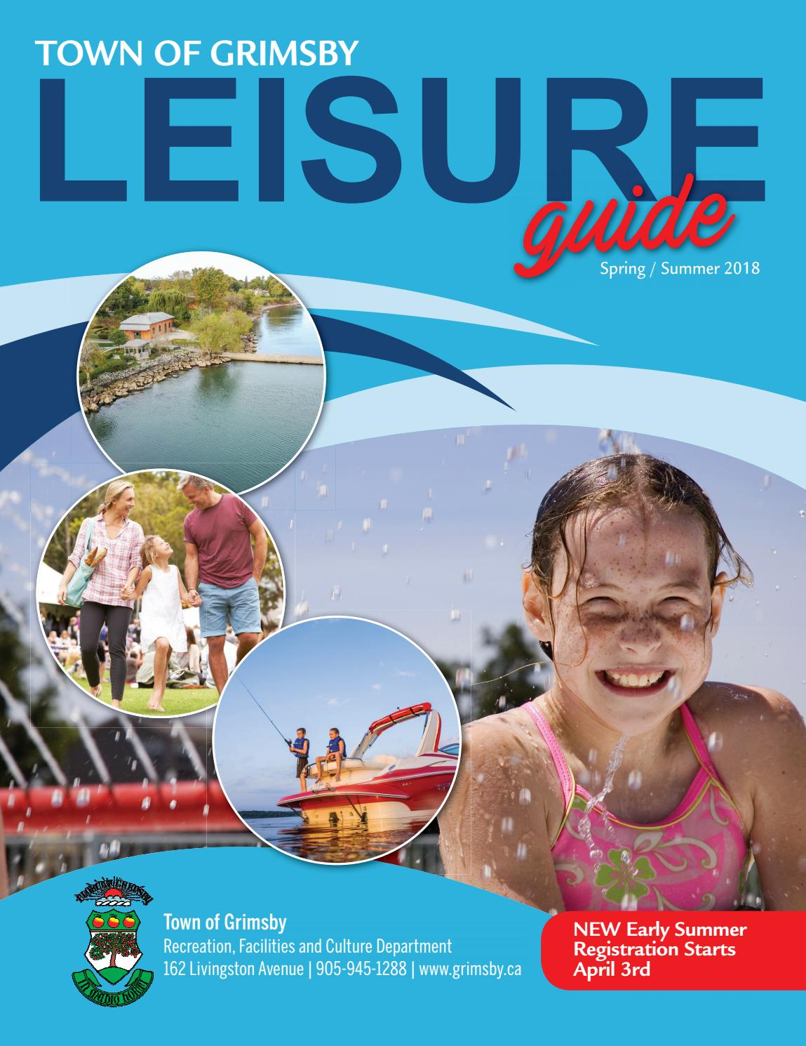 Town of Grimsby Spring/Summer 2018 Leisure Guide by Town of