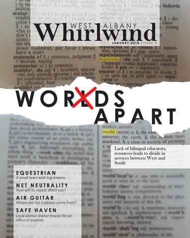 Whirlwind issue 3 by The Whirlwind - West Albany High School