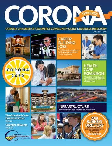 CORONA The Guide 2018 by Chamber Marketing Partners, Inc  - issuu