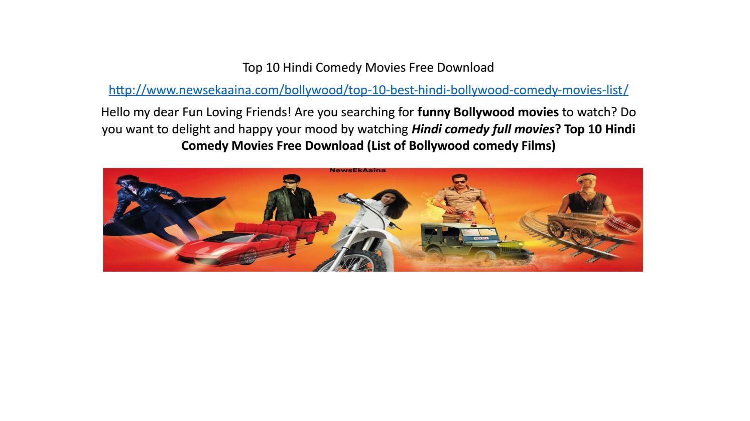 Top 10 Hindi Comedy Movies Free Download by aniket - issuu
