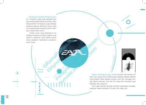 Page 14 of ASTRALAGUNA   Atmospheric Music Brandbook
