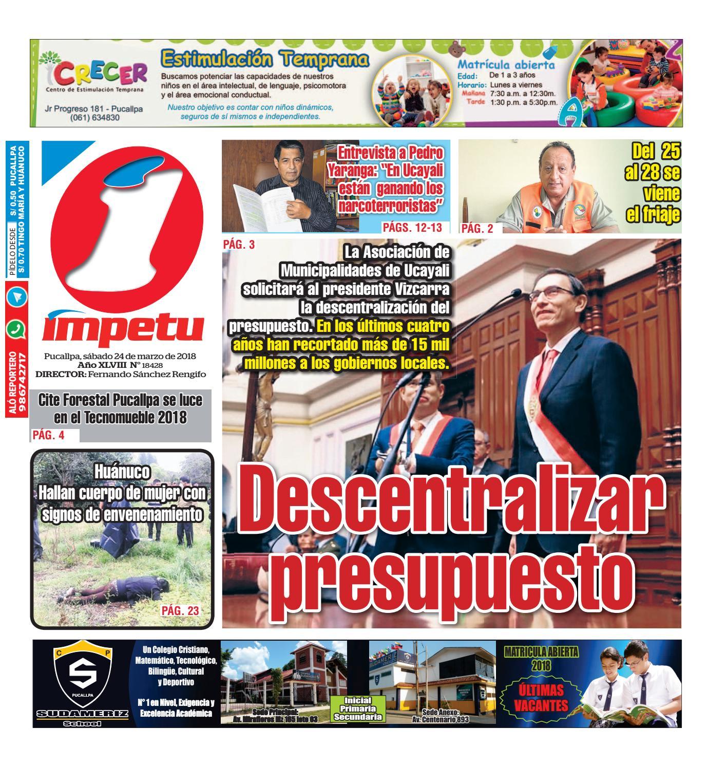 Diario De Issuu Ímpetu 24 2018 Marzo By Del Impetu 8PXwkO0n