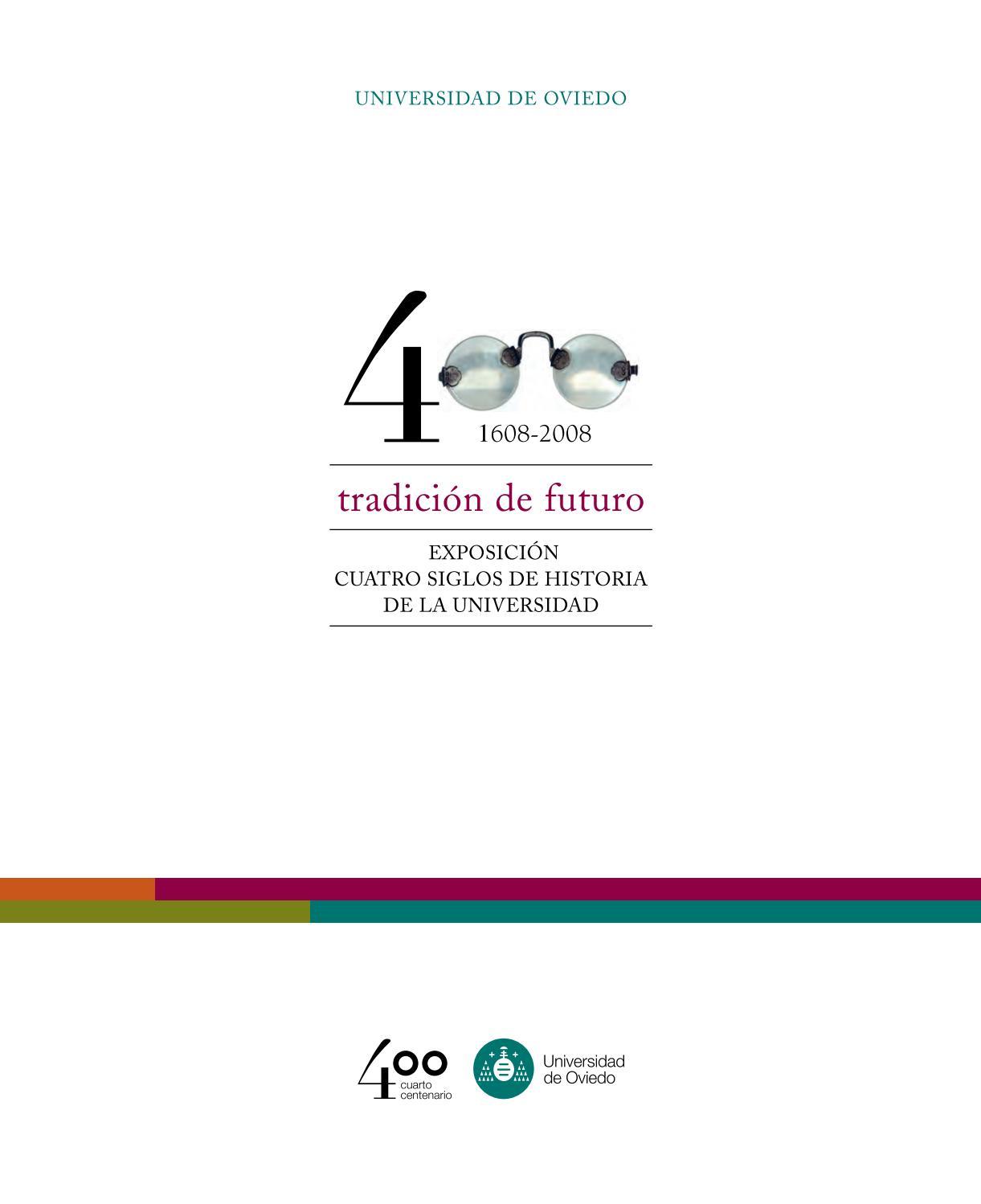 Universidad oviedo 400 años by Elías García Fuentes - issuu