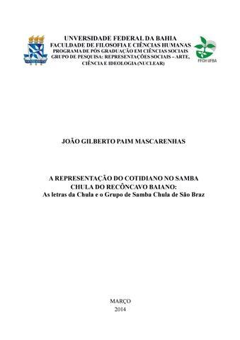 a representação do cotidiano no samba chula do recôncavo  instrumental pagode baiano firefox.php #4