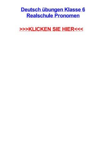 Deutsch jbungen klasse 6 realschule pronomen by earltxdtm - issuu