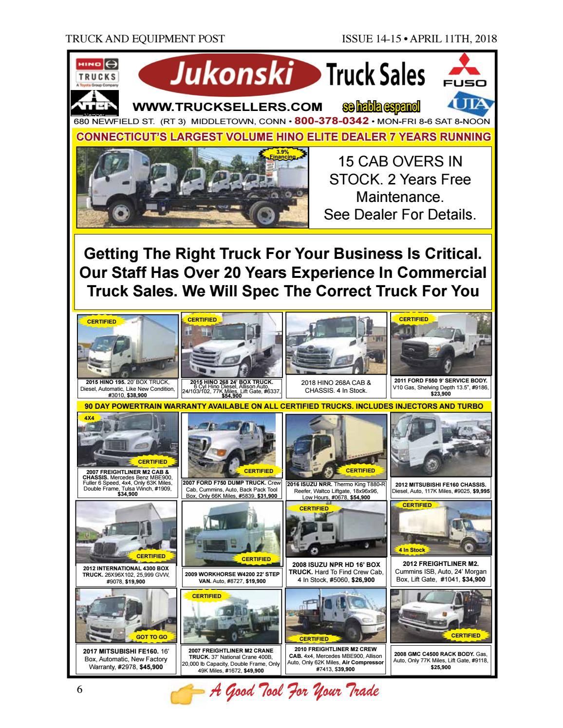 Truck equipment post 14 15 2018 by 1ClickAway - issuu