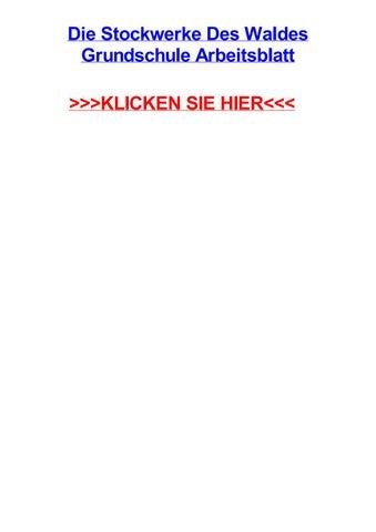 Die stockwerke des waldes grundschule arbeitsblatt by sarahitcbi - issuu
