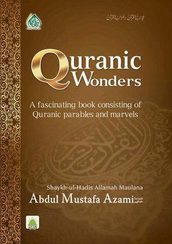 Quranic wonders by Farhan Ali Attari - issuu