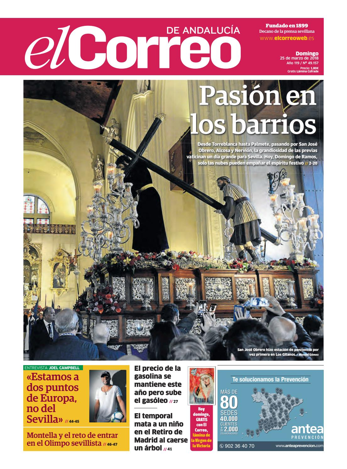 734ea3f92 25.03.2018 El Correo de Andalucía by EL CORREO DE ANDALUCÍA S.L. - issuu