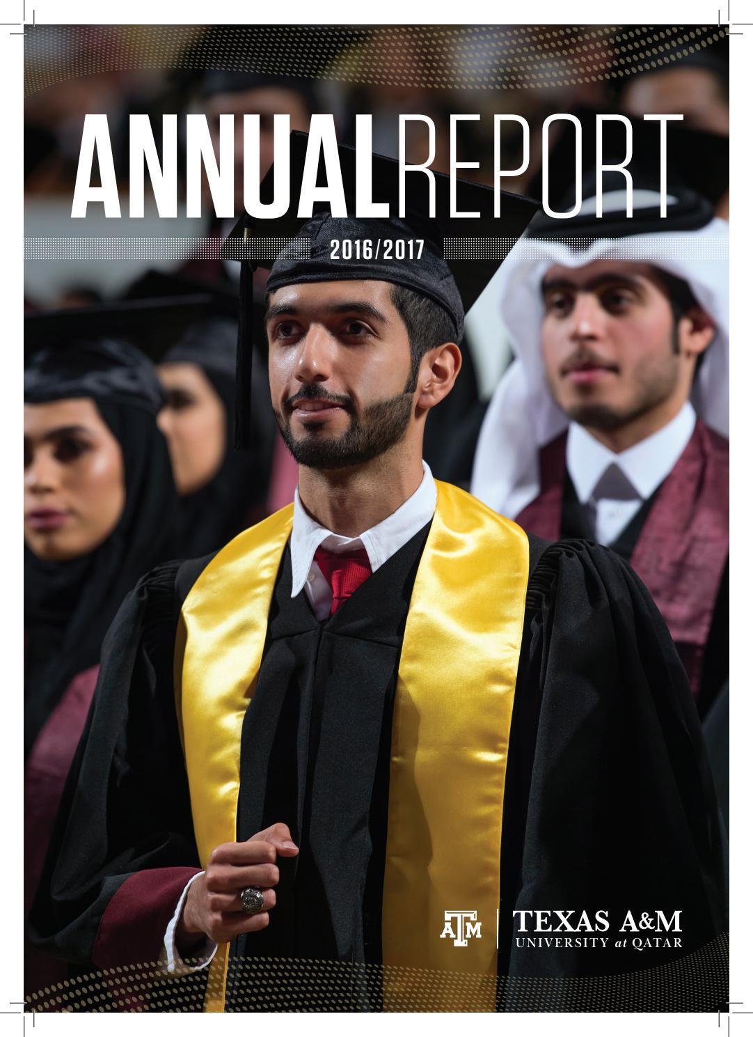 Annual Report 2016/2017 by Texas A&M at Qatar - issuu