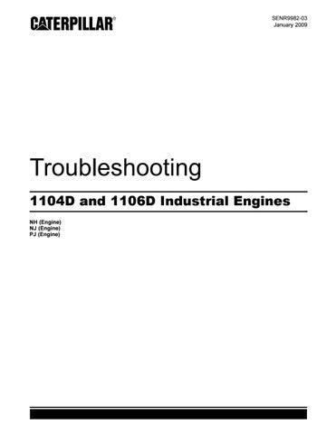 Perkins 1100 series 1106d industrial engine(model pj )service repair manual