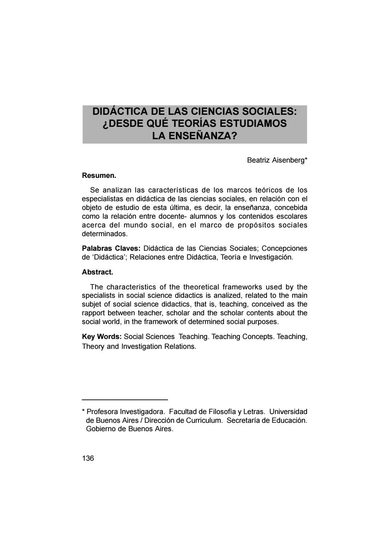 03 – beatriz aisenberg – didáctica de las ciencias sociales (136 160 ...