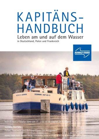 K Apitäns Handbuch Leben Am Und Auf Dem Wasser In Deutschland Polen Frankreich