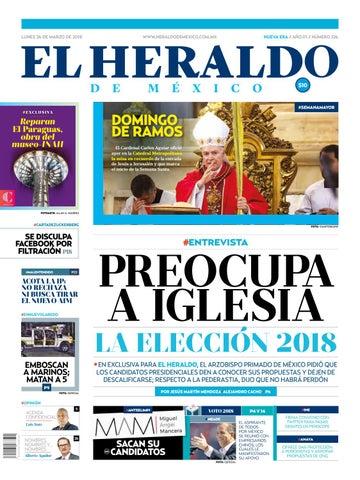 26 De Marzo De 2018 By El Heraldo De Mxico Issuu