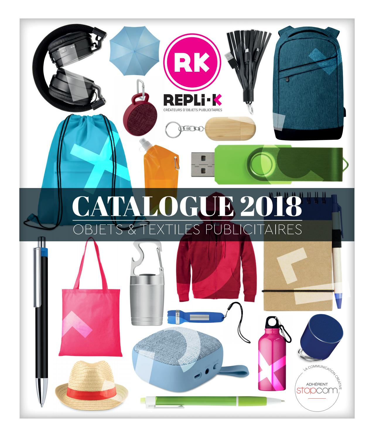 quality design 5b9f1 e8136 Replik 2018 by Objectif Goodies - issuu