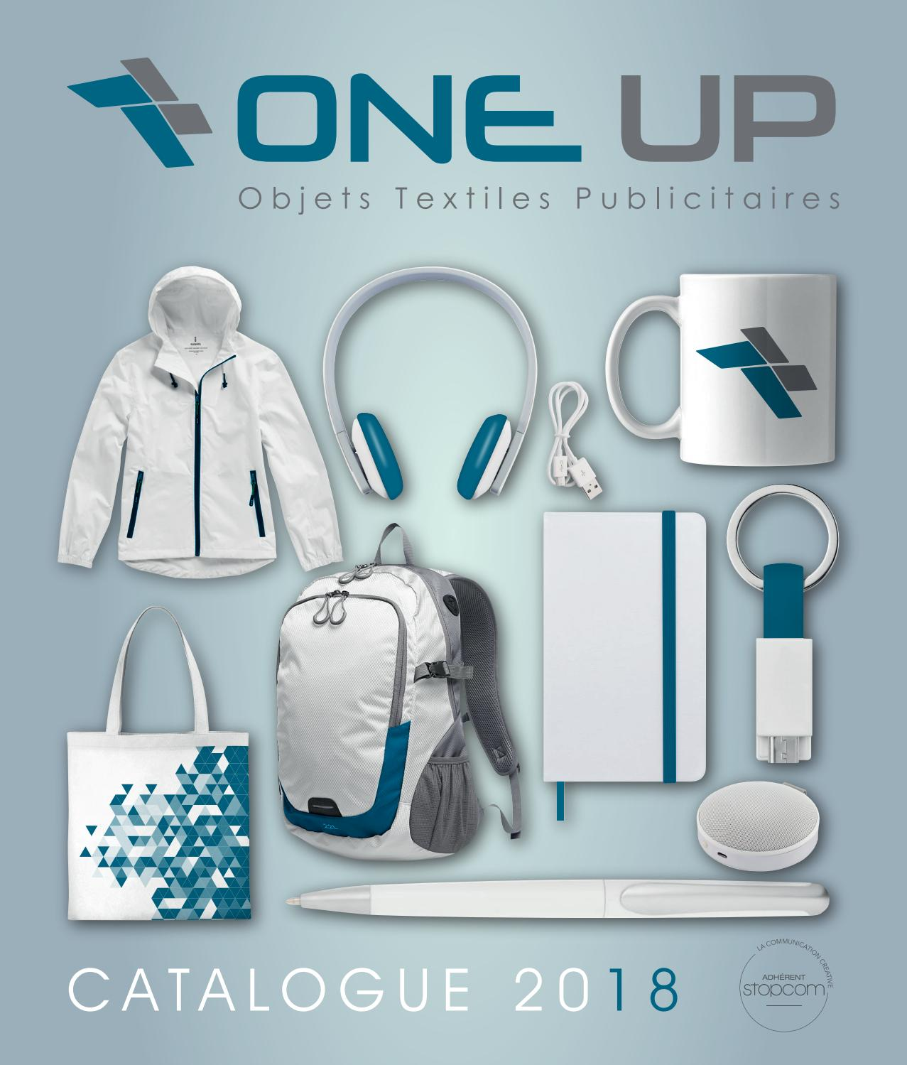 60feae6f867e4 One up 2018 by Objectif Goodies - issuu