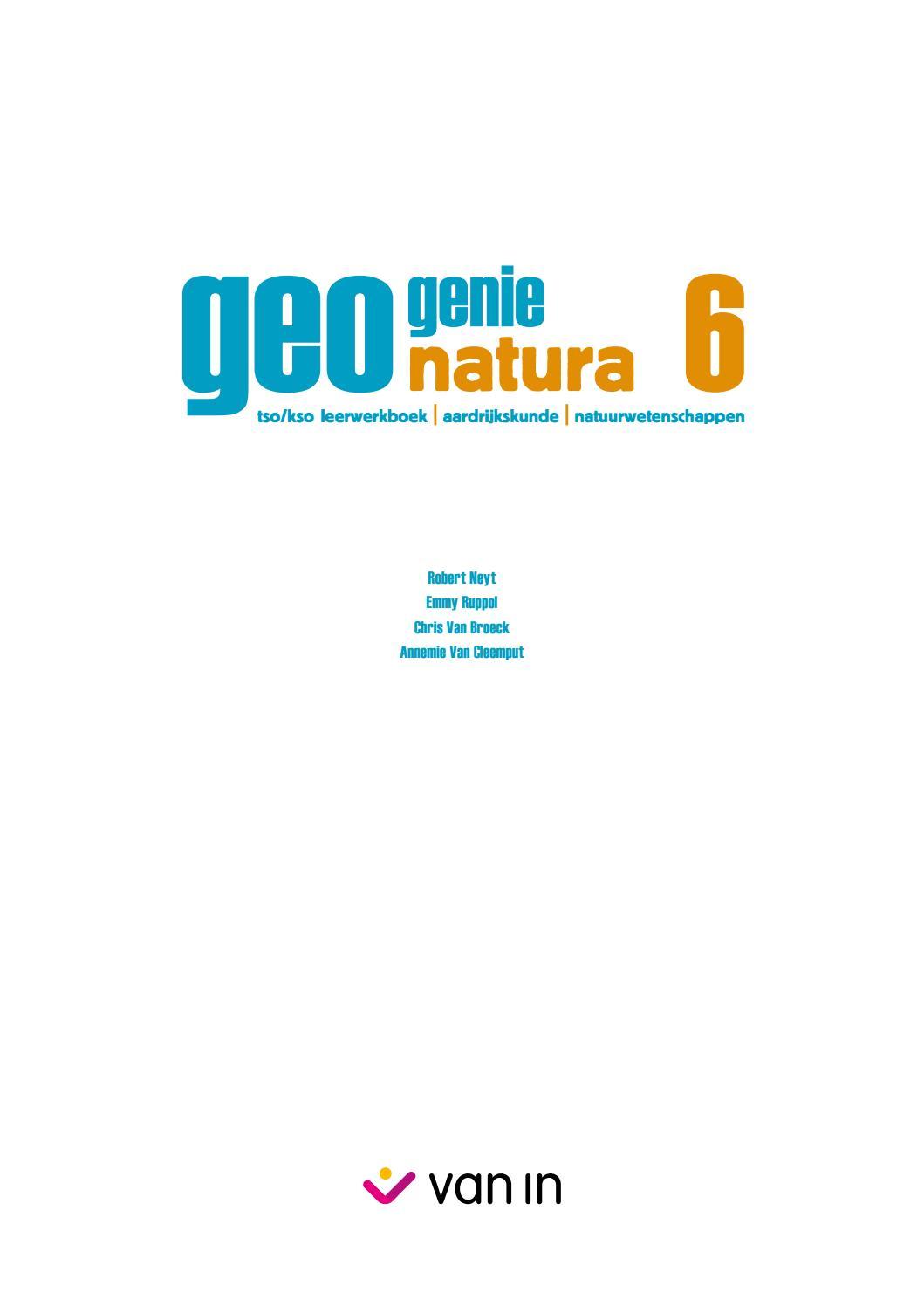 Geogeniegeonatura 6 Tsokso By Van In Issuu