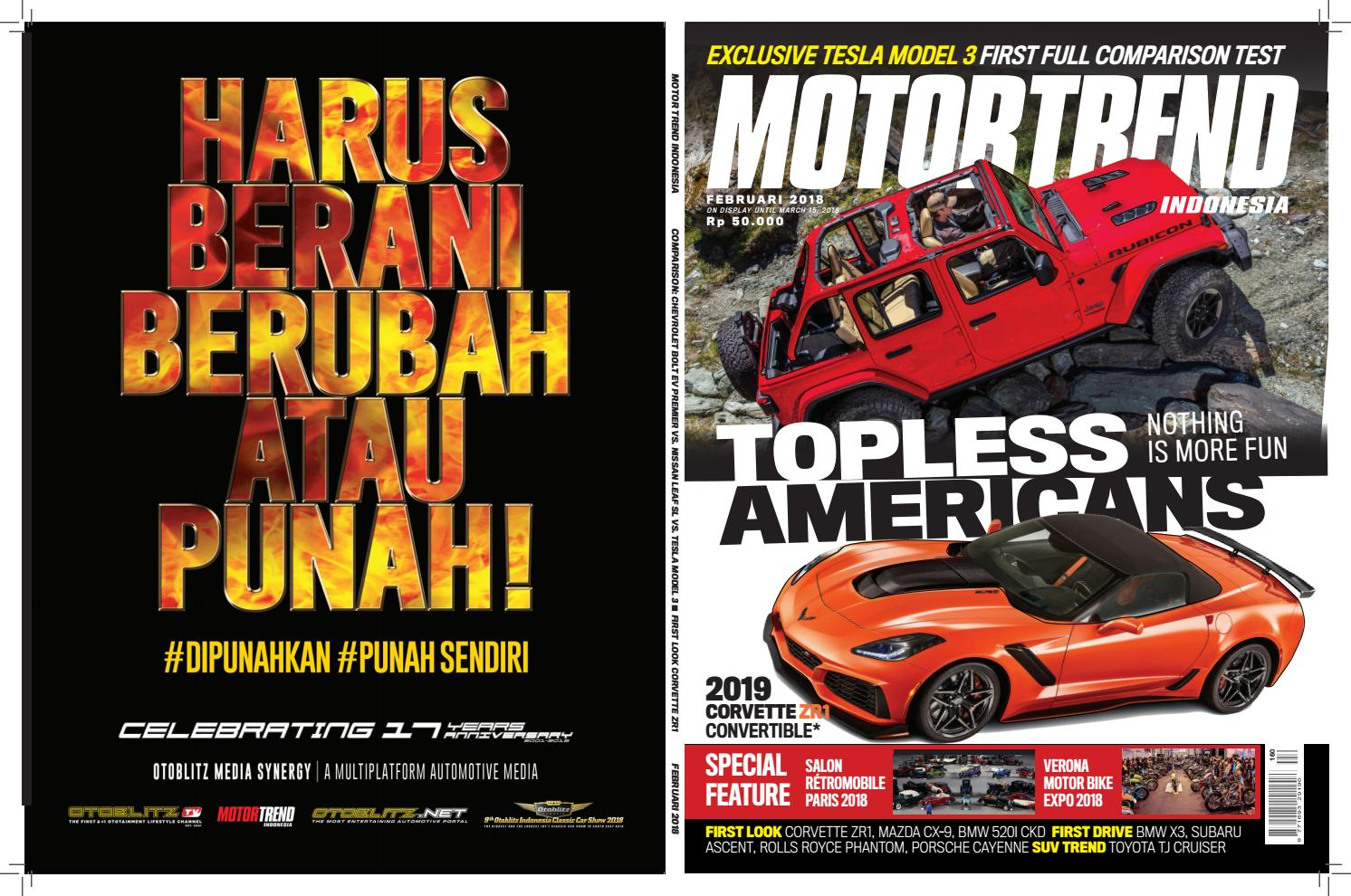 Motor Trend Indonesia Feb Mar Edition By Motor Trend