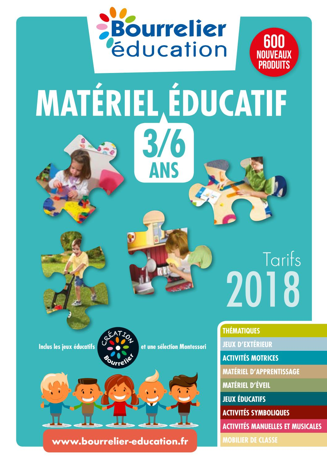 Catalogue Bourrelier Education 3 6 Ans 2018 By