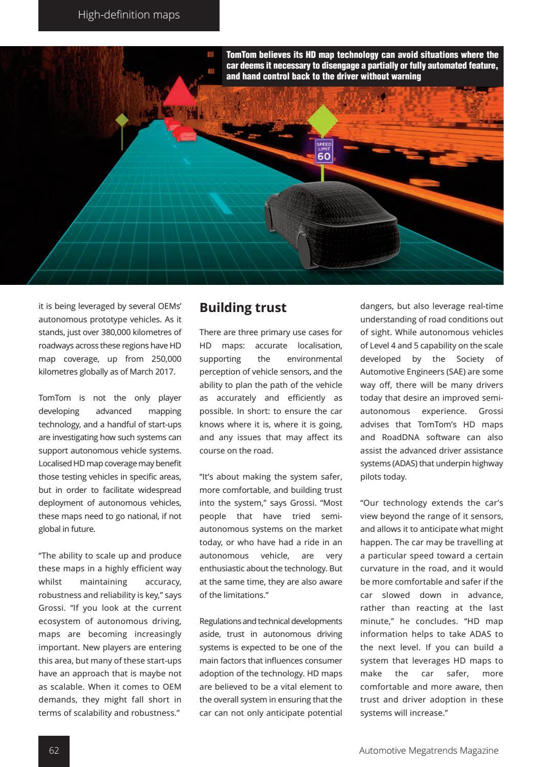 Automotive Megatrends Magazine - Q1 2018 by Automotive World