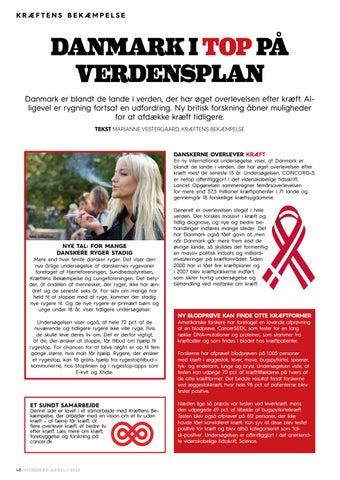 kræftens bekæmpelse undersøgelse