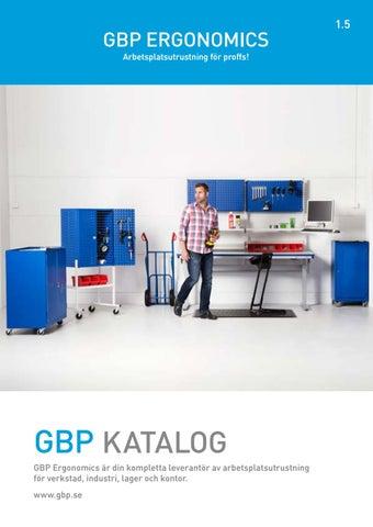 GBP Katalog 1.5 2018 by Scandinavian Storage Group - issuu 8909c7b9750db