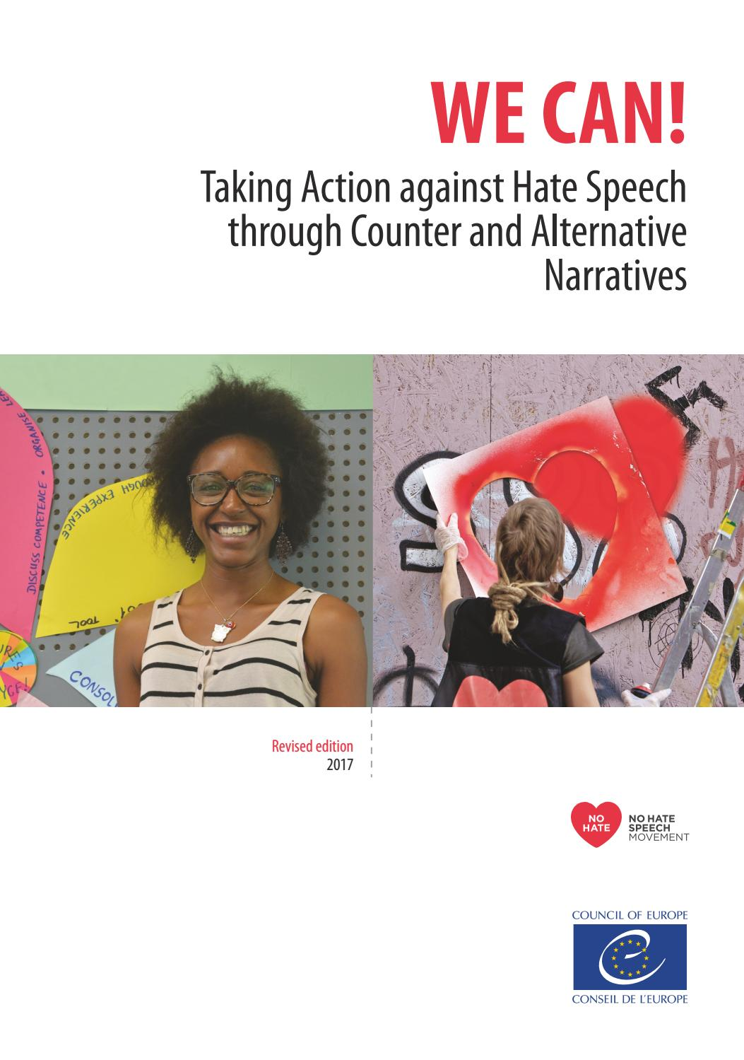 WE CAN! Taking Action against Hate Speech through Counter and ...