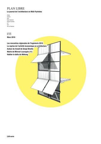 By Occitanie L'architecture Mars Libre 2018 155 Plan De Maison UqZSwBn