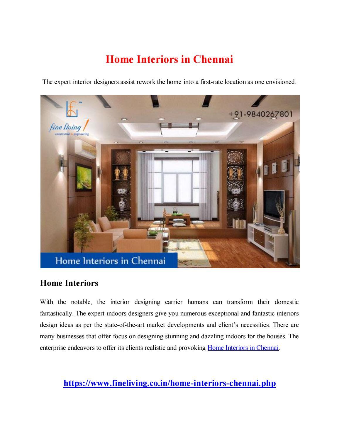 Home Interiors in Chennai by yandex2701 - issuu
