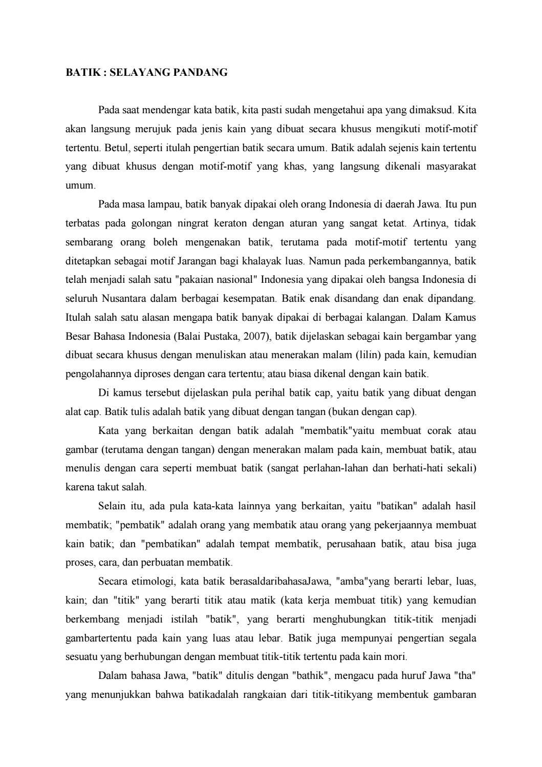 Batik nusantara by batikklasik1745 - issuu cb41fe4d3d