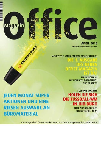 Office April 2018 By Patrik Meier Issuu
