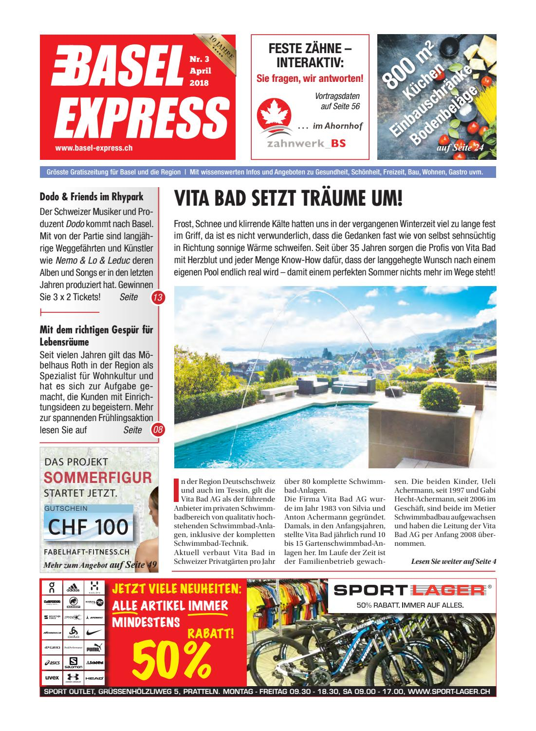 Basel Express Ausgabe 3/18 By TradeXpress   Issuu
