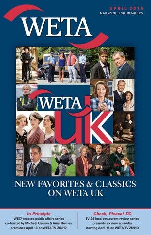 image relating to Weta Uk Printable Schedule named April 2018 - WETA Journal via WETA - issuu