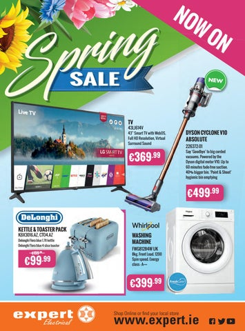 Expert Electrical's Spring Sale Brochure by Stakelums