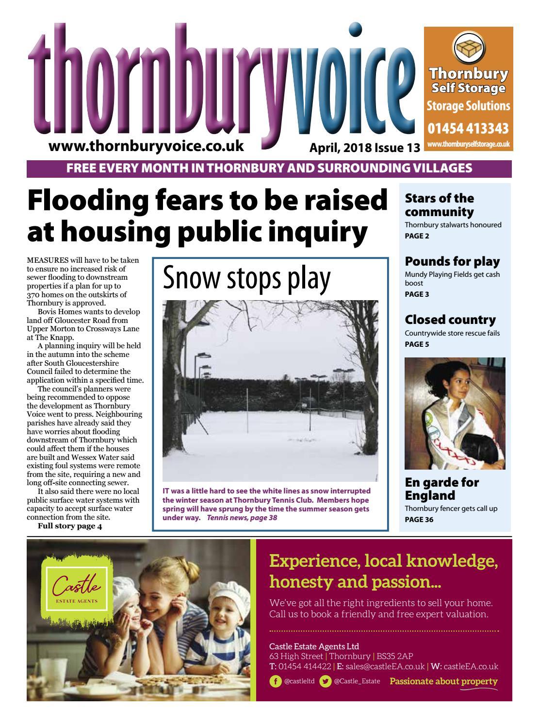 a2da21a0370 Thornbury Voice April 2018 by Thornbury Voice - issuu