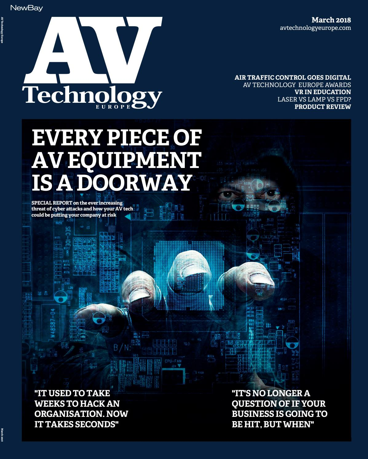 Avtechnology Europe March 2018 By Future Plc Issuu Do Not Need Want The Fan Kill Switch To Be Illuminated When