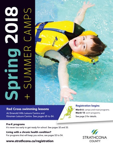 Strathcona County Spring Summer Camps Recreation Guide 2018 By