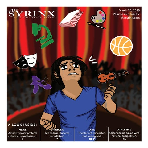 Volume 33 Issue 7 By The Syrinx Issuu
